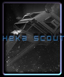 Heka Scout Class ship